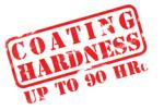 Coating hardness 90